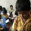 Elementary school classroom in a slum Poem summary